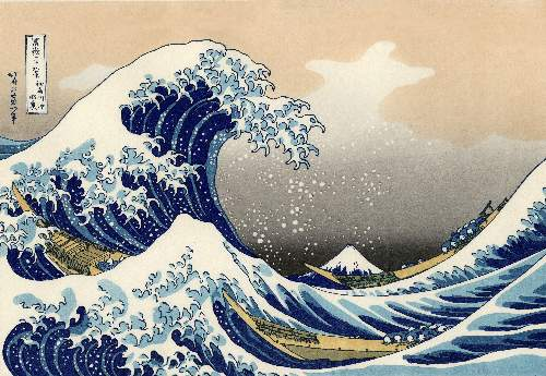 Japanese Hokusai Images on DVD