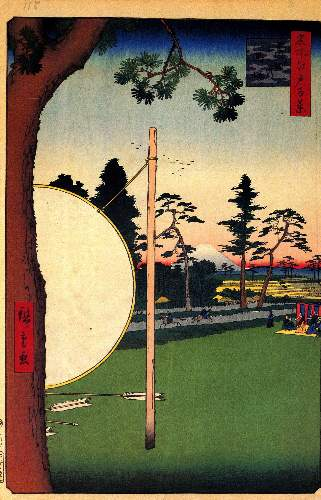 Takata Riding Grounds by Hiroshige
