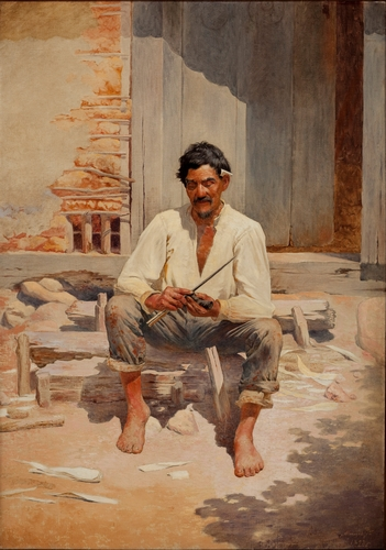 Almeida Junior - Cutting Tobacco