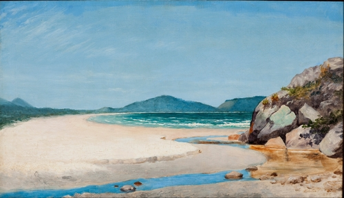 Almeida Junior - Seascape in Guaruja