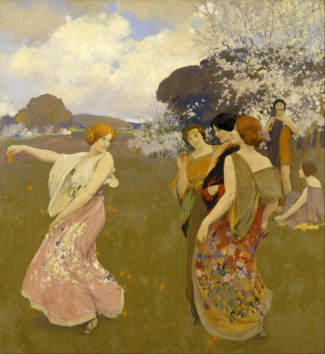Arthur Mathews - Spring Dance