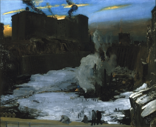 George Bellows - Pennsylvania Station Excavation