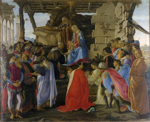 Botticelli - Adoration of the Magi
