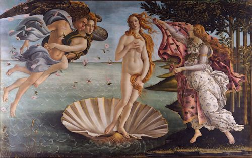 Botticelli - Birth of Venus