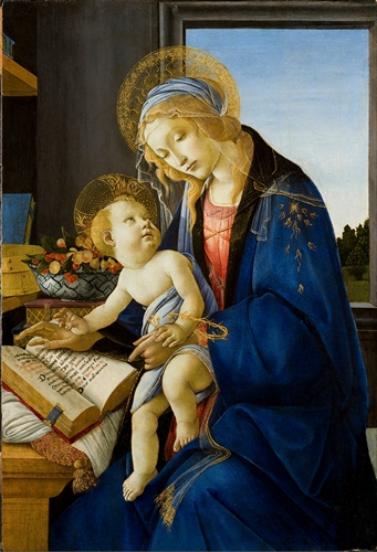 Botticelli - The virgin and child