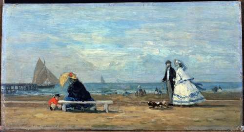 Boudin - Beach at Trouville 2