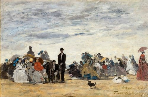 Boudin - The Beach at Trouville