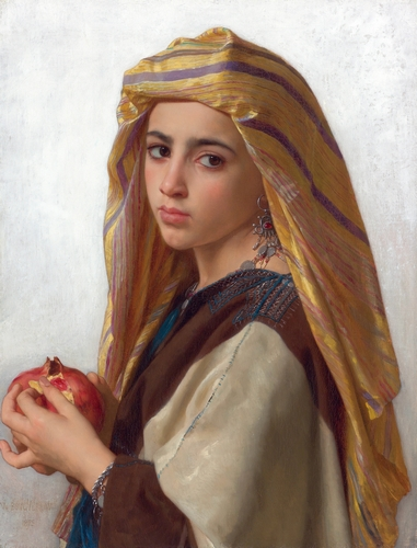 Bouguereau - Girl with a pomegranate