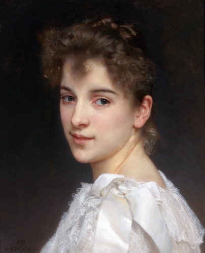 Bouguereau - Portrait of Gabrielle Cot