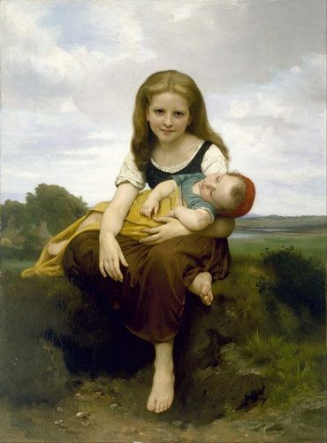Bouguereau - The Elder Sister