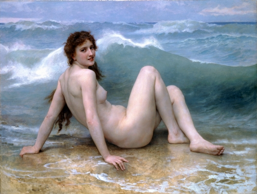 Bouguereau - The wave