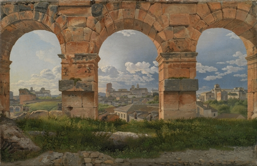 C.W. Eckersberg - Three Arches of the Colosseum