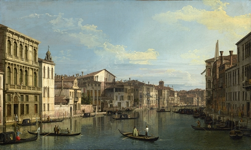 Canaletto - The Grand Canal in Venice
