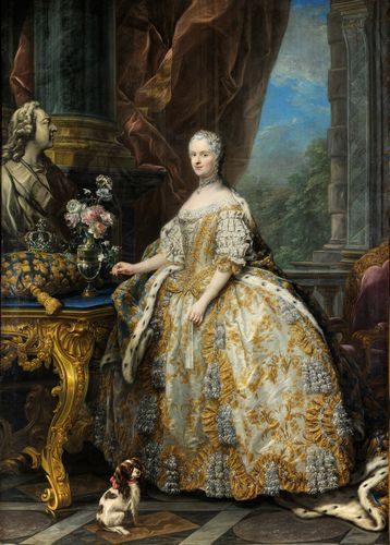 Carle Van Loo - Marie Leszczinska, Queen of France