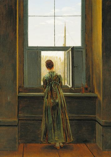 Caspar David Friedrich - Woman at a Window
