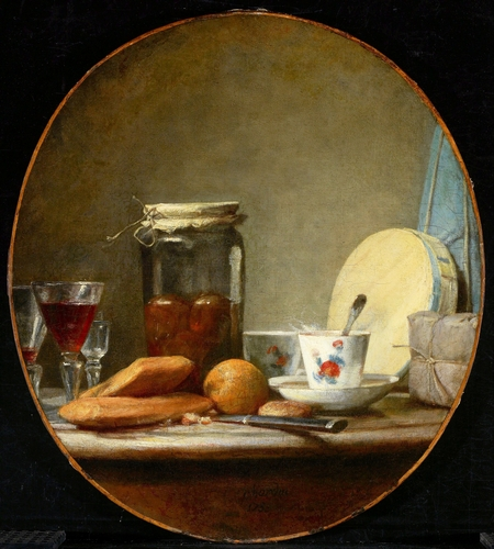 Chardin - Jar of Apricots
