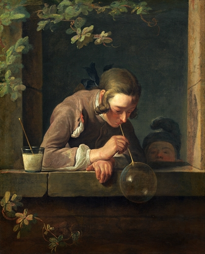 Chardin - Soap Bubbles