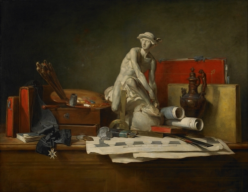 Chardin - The Attributes of the Arts