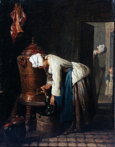 Chardin - Woman Drawing Water at the Cistern