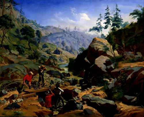 Charles Nahl - Miners in the Sierras