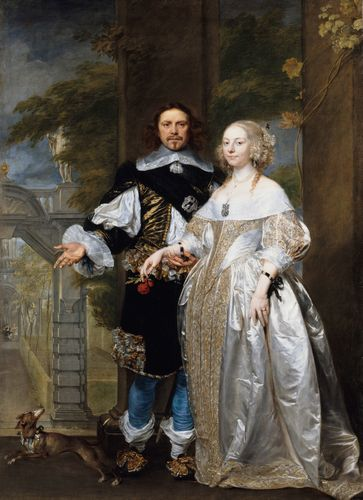 Coques - Portrait of a married couple in the park