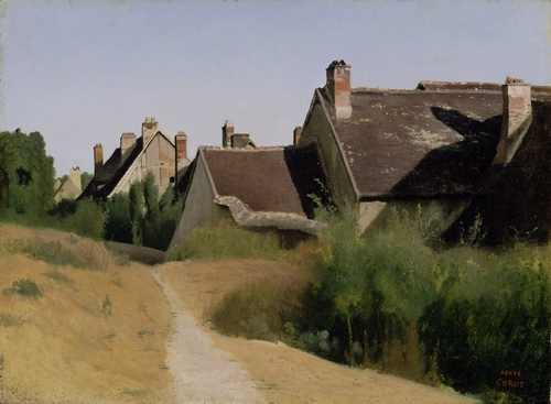 Corot - Houses near Orleans
