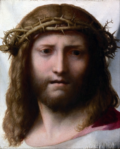Correggio - Head of Christ