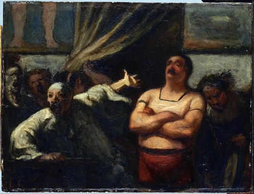 Daumier - The strong man