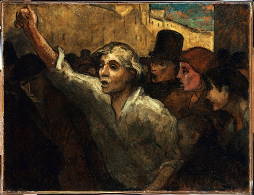 Daumier - The uprising
