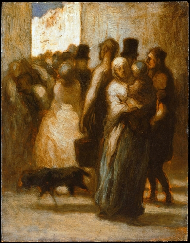 Daumier - To the streets