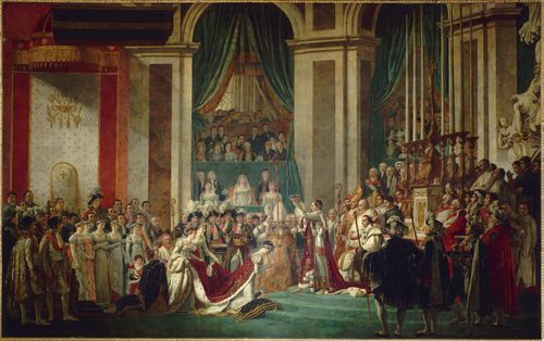 David - Coronation of Napoleon and Josephine