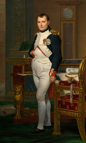 David - The Emperor Napoleon in his study at the Tuileries