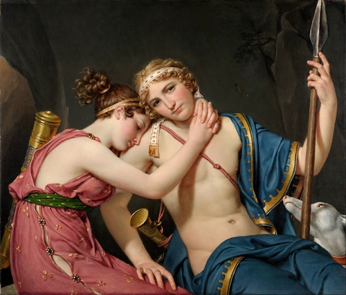 David - The Farewell of Telemachus and Eucharis