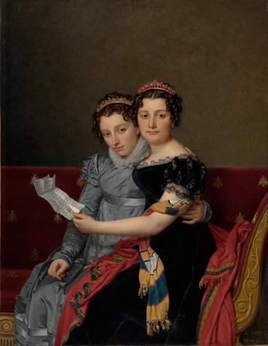 David - The Sisters Zenaide and Charlotte Bonaparte