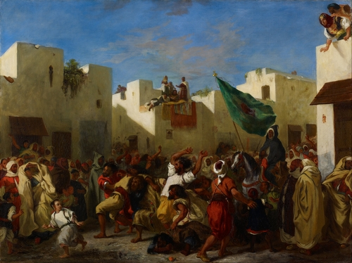 Delacroix - Fanatics of Tangier