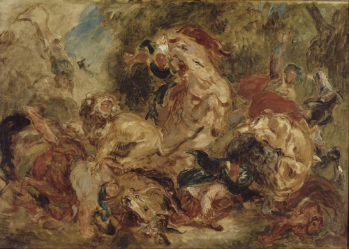 Delacroix - The Lion Hunt