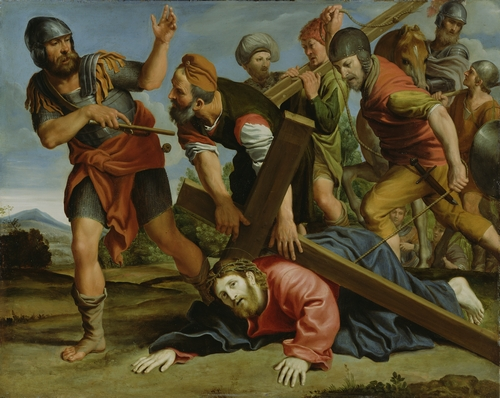 Domenichino - The way to Calvary