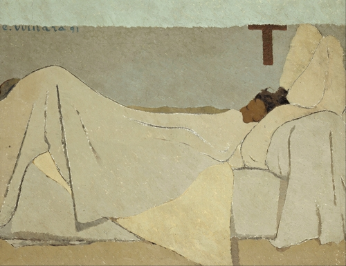Edouard Vuillard - In Bed