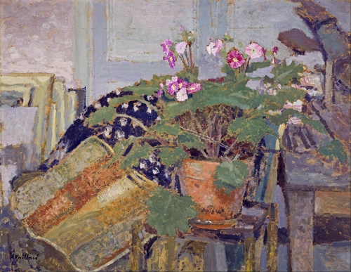 Edouard Vuillard - Pot of Flowers