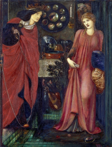 Edward Burne-Jones - Fair Rosamund and Queen Eleanor
