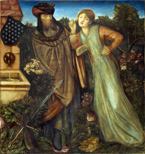 Edward Burne-Jones - King Mark and La Belle Iseult