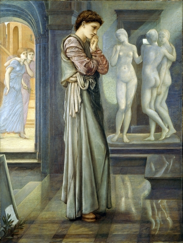 Edward Burne-Jones - Pygmalion and the Image III