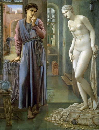 Edward Burne-Jones - Pygmalion and the Image