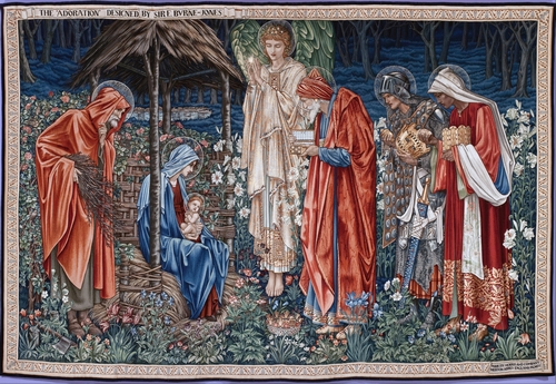 Edward Burne-Jones - The Adoration of the Magi