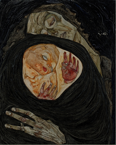 Egon Schiele - Dead Mother I