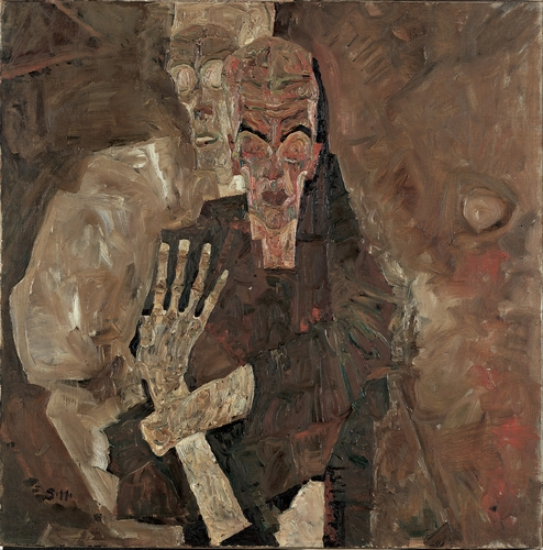 Egon Schiele - Death and Man