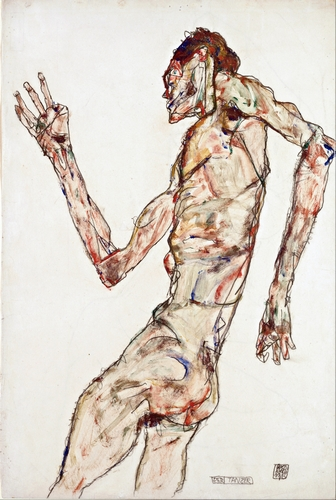 Egon Schiele - The Dancer