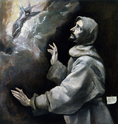 El Greco - Saint Francis Receiving the Stigmata