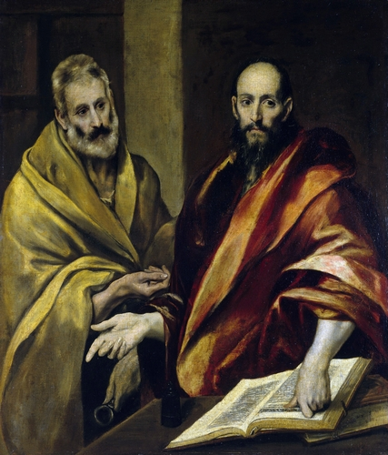 El Greco - St Peter and Paul