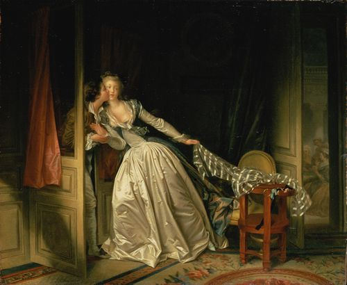 Fragonard - The Stolen Kiss